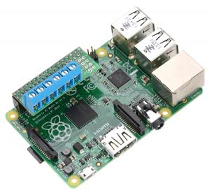 DRV8835 Dual Motor Driver Kit pentru Raspberry Pi B+ [1]