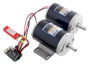 Pololu Dual G2 High-Power Motor Driver 18v18 pentru Raspberry Pi (Partial Kit) [3]