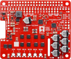 Pololu Dual G2 High-Power Motor Driver 18v18 pentru Raspberry Pi (Partial Kit) [4]