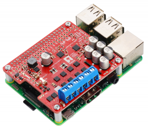 Pololu Dual G2 High-Power Motor Driver 24v14 pentru Raspberry Pi (Partial Kit)0