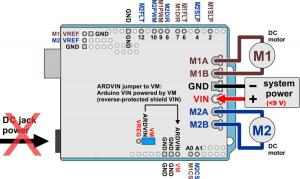 Pololu Dual G2 High-Power Motor Driver 24v18 Shield pentru Arduino [7]