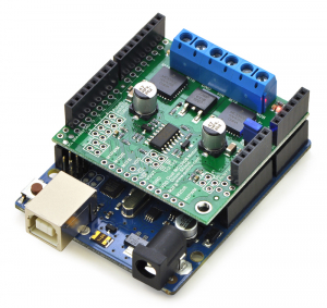 Dual MC33926 Motor Driver Shield1