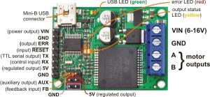 Pololu Jrk 12V12A USB Motor Controller1