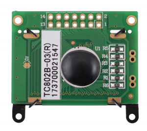 Pololu LCD 8×2 caractere, rama neagra, interfata paralela [1]
