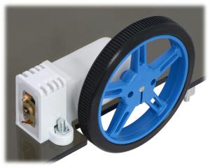 Mini Plastic Gearmotor Bracket Pair - Tall1