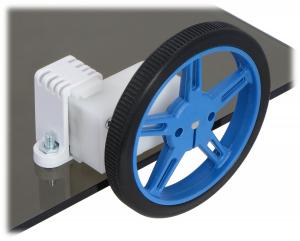 Mini Plastic Gearmotor Bracket Pair - Tall2
