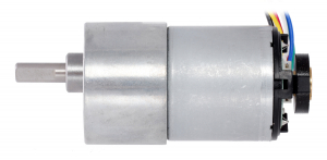Pololu motor electric metalic, 10:1, 37Dx65L, 12V, pinion elicoidal5