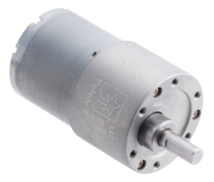 Pololu motor electric metalic, 131:1, 37Dx57L, 12V, pinion elicoidal0