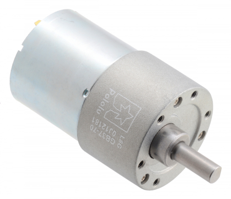 Pololu motor electric metalic 24V, 70:1, 37Dx54L, pinion elicoidal [0]