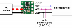 Comutator RC  Digital Output [6]