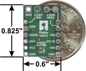 Comutator RC  cu MOSFET1