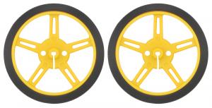 Roti Pololu Wheel 60×8mm Perechea - Galbene0