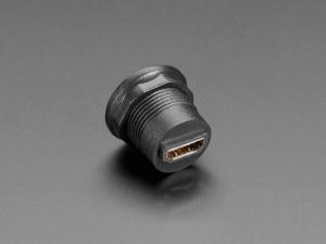 Priza HDMI rotunda pentru panouri [2]