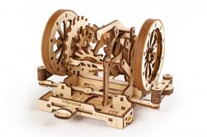 Puzzle mecanic 3D STEM Ugears Diferentialul2