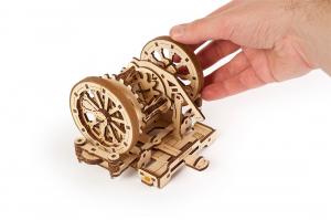 Puzzle mecanic 3D STEM Ugears Diferentialul9