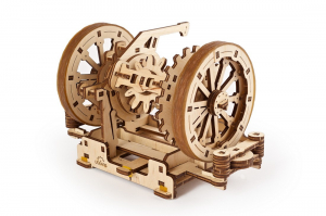 Puzzle mecanic 3D STEM Ugears Diferentialul4