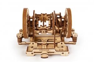 Puzzle mecanic 3D STEM Ugears Diferentialul0