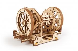 Puzzle mecanic 3D STEM Ugears Diferentialul3