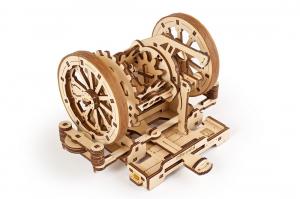 Puzzle mecanic 3D STEM Ugears Diferentialul6