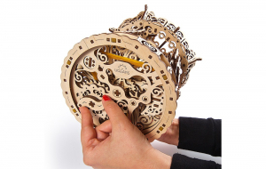 Puzzle mecanic 3D lemn Ugears Carusel6