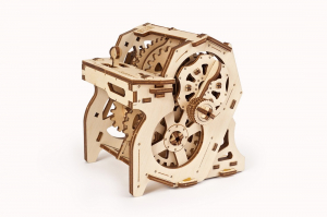 Puzzle mecanic 3D STEM Ugears Cutia de viteze2