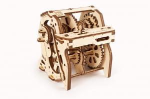 Puzzle mecanic 3D STEM Ugears Cutia de viteze5