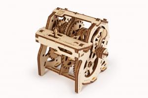 Puzzle mecanic 3D STEM Ugears Cutia de viteze1
