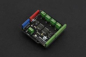 Quad DC Motor Driver Shield  Arduino0