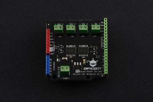 Quad DC Motor Driver Shield  Arduino2