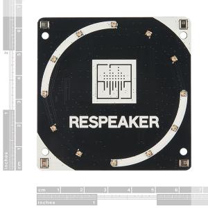 Placa  ReSpeaker cu 4 microfoane pentru Raspberry Pi1