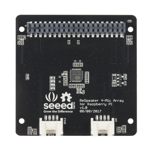 Placa  ReSpeaker cu 4 microfoane pentru Raspberry Pi3