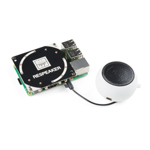 Placa  ReSpeaker cu 4 microfoane pentru Raspberry Pi5