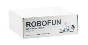 Filament Premium Robofun PLA 1KG  1.75 mm - Silver [1]