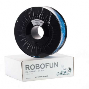 Filament Premium Robofun PLA 1KG  1.75 mm - Albastru deschis [0]
