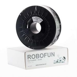 RETRAS - Filament Premium Robofun PLA 1KG  3 mm - Silver [6]