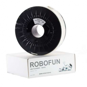 Filament Premium Robofun ABS 1KG  3 mm - Alb0