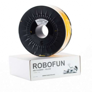 Retras Filament Premium Robofun ABS 1KG  1.75 mm - Galben0