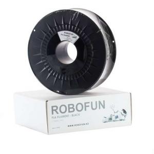 Filament Premium Robofun PLA 1KG  1.75 mm - Negru [0]