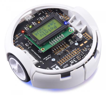 Robot Pololu 3pi+ 32U4 - Editia Hyper (motoare 15:1 HPCB), asamblat1