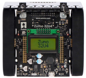 Robot Zumo 32U4 (asamblat cu motoare de 100:1 HP) [2]