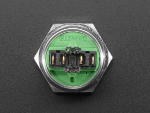 Buton RGB fara mentinere cu protectie la intemperii - 22mm 6V2