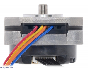 Sanyo Pancake Stepper Motor cu Encoder: Bipolar, 200 Steps/Rev, 42×24.5mm, 3.5V, 1 A/Faza, 4000 CPR3
