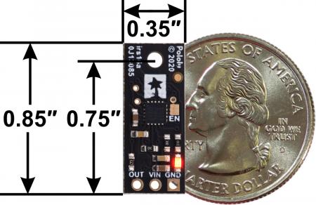 Senzor digital de distanta Pololu 15cm [4]