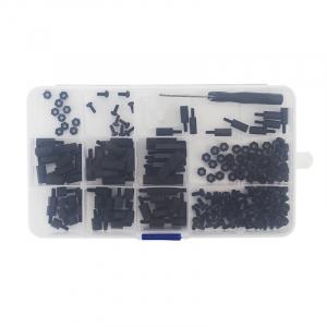 Set suruburi negre din nailon pentru Raspberry Pi2