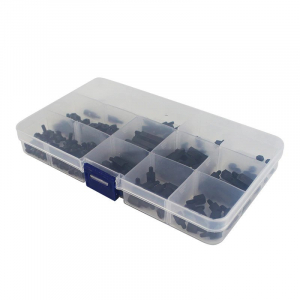 Set suruburi negre din nailon pentru Raspberry Pi4