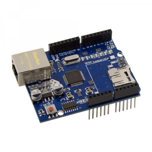 Shield Ethernet pentru Arduino cu chip Wiznet W5100 [1]