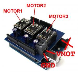 Shield Arduino pentru motoare stepper1