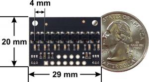 Bara senzori linie digitali 7 QTRX-HD-07RC3