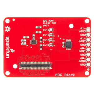 SparkFun Block for Intel® Edison - ADC1