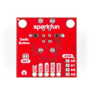 SparkFun buton LED rosu cu Qwiic2